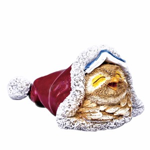 Down Owl Sleep Ornament