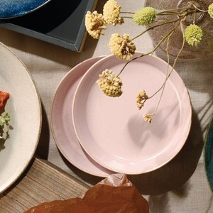 Natural Color Plate Mino Ware Plain Color Plates & Utensil