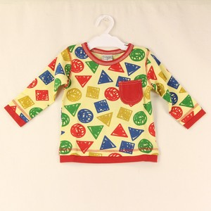 A/W Long Sleeve T-shirt Repeating Pattern