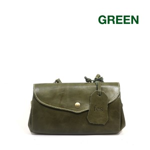 Leather Wallet Shoulder Bag