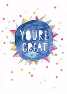 MADISON PARK GREETINGS カード <YOU'RE GREAT>