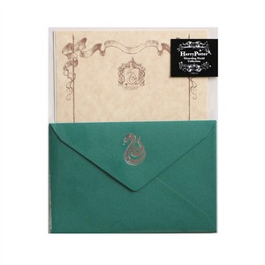 【Harry Potter Collection】レターセット(Slytherin)