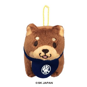 """Mochishiba"" Shiba Inu Dog Stand Pose Soft Toy Ball Chain"