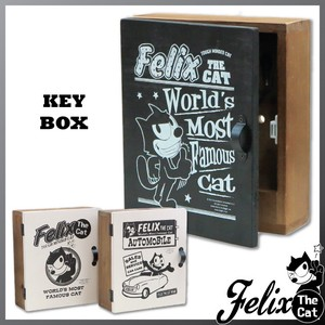 Felix Cat Box Wall Hanging Product Wooden