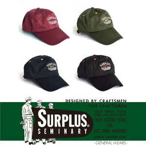 SURPLUS Cotton Twill Embroidery Face Cap