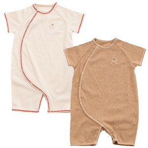 Set Organic Cut And Sewn Short Sleeve Rompers