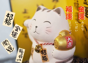 Folk Craft Ornament Better Fortune Good Luck Neko Usagi Owl