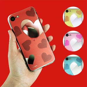 iPhone SE Case Heart Heart Mirror Case
