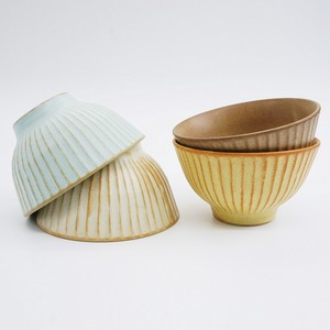 Faceted Rice Bowl [Bread & Rice / Mino Ware]