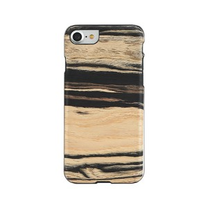 Natural Wood Case White White Ebony