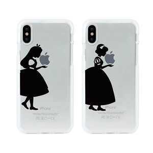 iPhone soft Clear Case Silhouette