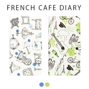 iPhone French Cafe Diary
