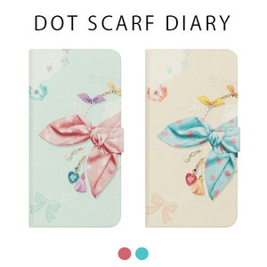 iPhone Dot Scarf Diary