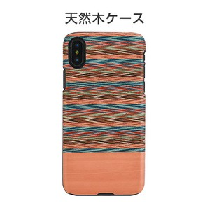 iPhone Case Natural Wood Checkered