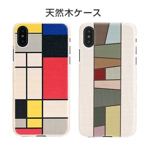 iPhone Natural Wood Mondrian Wood iPhone Cover Wooden