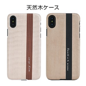 iPhone Case Natural Wood Dear