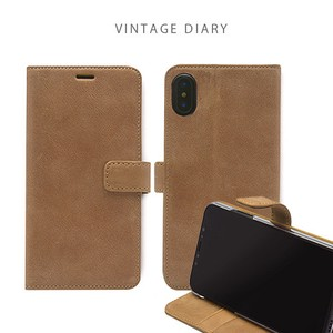 iPhone Genuine Leather Vintage Diary