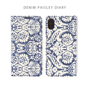 iPhone Paisley Denim Paisley Diary