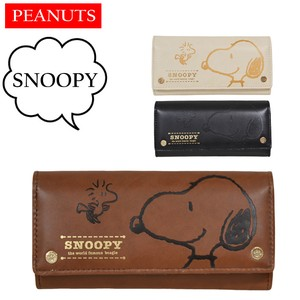 Snoopy Long Wallet Retro Gift Snoopy Push Cover Wallet