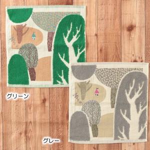 【MiW style】森のわが家 <ウォッシュタオルサイズ>
