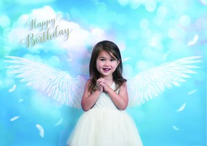 House Studio iesta Photo Poster Happy Angel