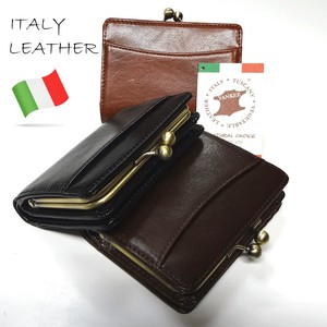 [reccomendations in 2021] Italy Leather Coin Purse Short Wallet