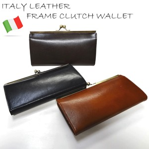 [reccomendations in 2021] Italy Leather Coin Purse Long Wallet
