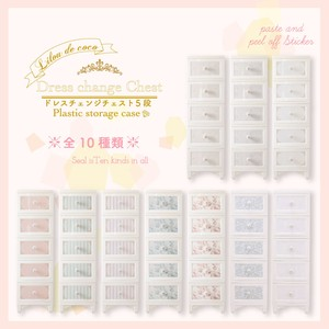 10 Types 5 Steps Dress Chest