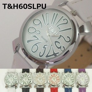 T&H Unisex Wrist Watch Leather Watch Movement