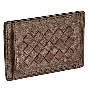 Men's Vegetable Leather Mesh Coin Purse Coin Case Card