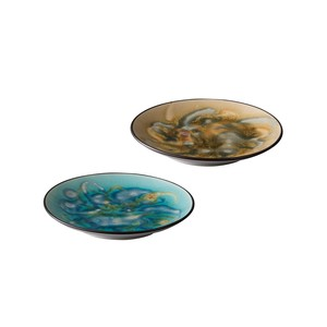Gift Marble Plate Porcelain