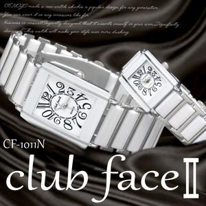 7ae35a5e71 【選べるケース有or無】 club face 腕時計 ペアウォッチ 男性用 女性用
