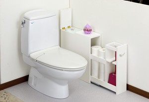Ride Toilet Rack Ivory