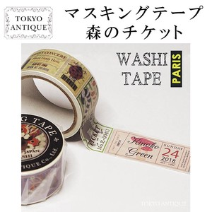 Items Washi Tape Ticket