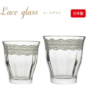 Double Lace Glass Tumbler