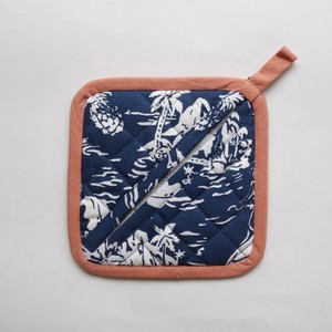 Aloha Mitten Blue Potholder Lucky Bag