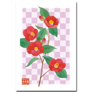 Post Card Pack Camellia