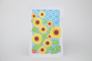 Post Card Pack Sunflower Pattern