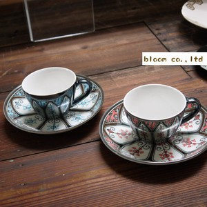 MARRANKECH Coffee Cup Saucer Mino Ware
