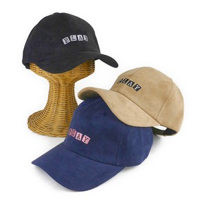 Embroidery Fake Suede Cap Young Hats & Cap