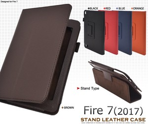 Tablet Supply Stand Attached Model Leather Design Case