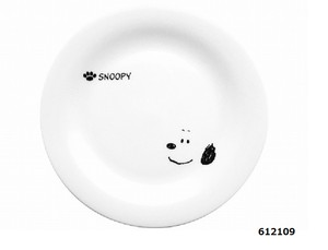 Snoopy Face Series Cake Plate Pot Spoon