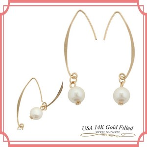 US Pearl Processing Pierced Earring