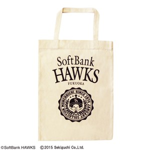 Travel soft Bank Hawks monchhichi Tote Bag