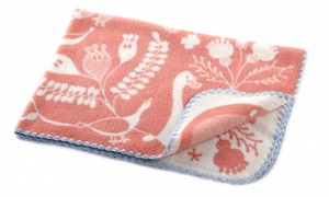 Heating Cotton Blanket Swan Lake Pink