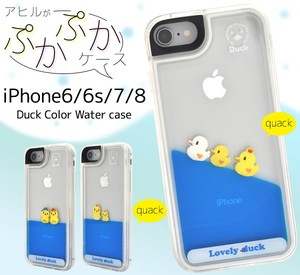 Smartphone Case Duck iPhone SE Duck Color Water Case