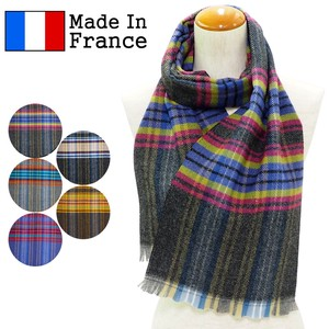 A/W A/W Scarf France Checkered Scarf
