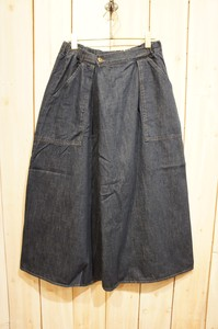 Carry Denim Skirt wide pants