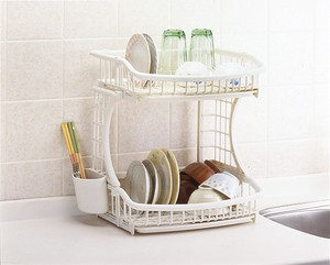 Made in Japan 2 Steps Draining Basket