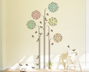 Print Type Large Format Wall Sticker Acorn Search Basic Animal Plant Kids